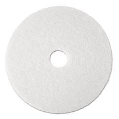 White Polishing Floor Pad 20""