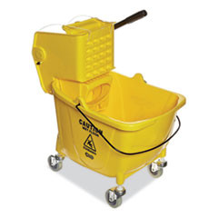 35 QT Side Press Mop Bucket with Wringer