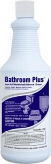 Bathroom Plus Disinfectant and Bowl Cleaner 12 Quart Case