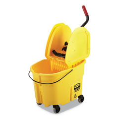 Rubbermaid Commercial 35 qt Mop Bucket Down - Press