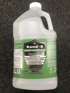 Gallon Hand Sanitizer 75% Alcohol