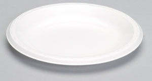 "Laminated 9"" Plate"