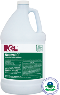 Neutral Q Disinfectant Cleaner