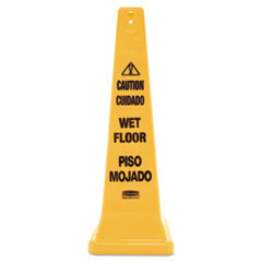 Safety Cone Floor Sign