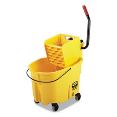 Rubbermaid Commercial 35 qt Mop Bucket Side - Press