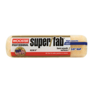 "Super Fab 9"" Roller Cover 1/2"" Nap"
