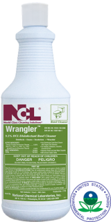 Wrangler Clinging Bowl Cleaner & Disinfectant 12 Quart Case